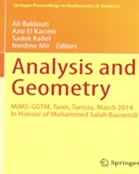 Analysis and Geometry Conference 2014